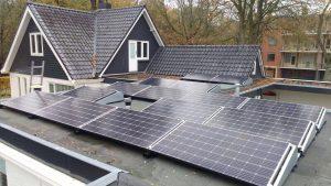 zonnepaneelinstallatie Epe plat dak