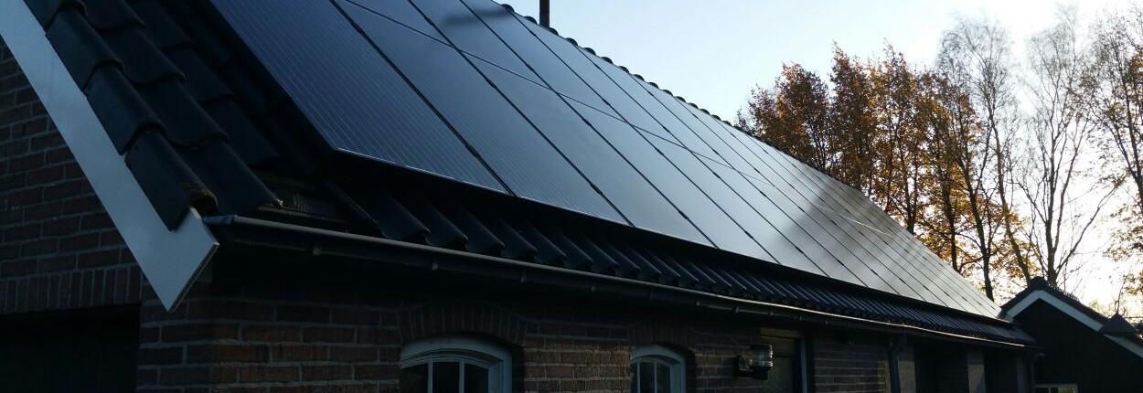 Zonnepaneelinstallatie Sources Solar